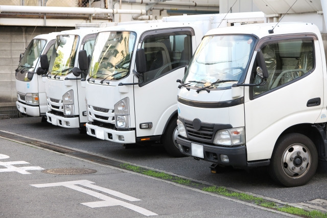 輸送するためのトラックの種類