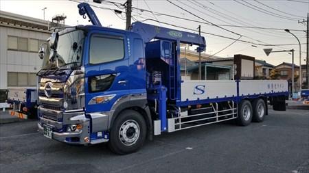 埼玉の運送業者「株式会社清光ライン」の運送トラック